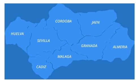 Karte Andalusien Cadiz.Cádiz Touren Motorrad Andalusien De